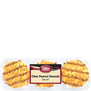 Bakers Collection® Choc Peanut Rounds 9pk