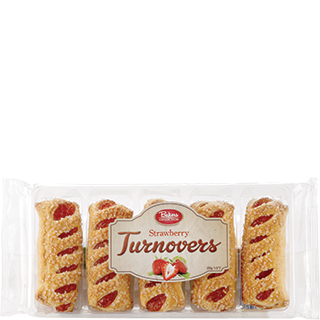 Bakers Collection® Puff Pastry Turnovers Strawberry