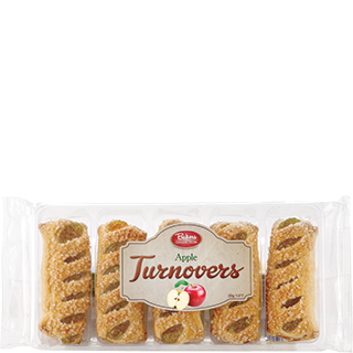 Bakers Collection® Puff Pastry Turnovers Apple