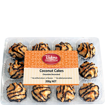 Bakers Collection® Coconut Cakes Choc Stripe