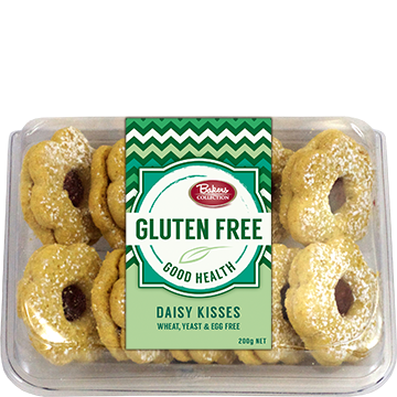 Bakers Collection® Gluten Free Daisy Kisses 200g