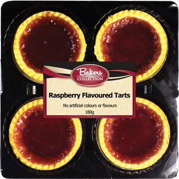 Bakers Collection® Raspberry Tarts