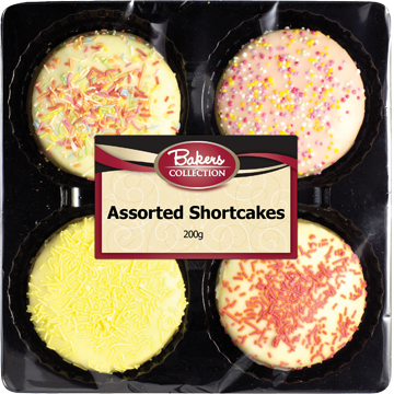 Bakers Collection® Assorted Shortcakes