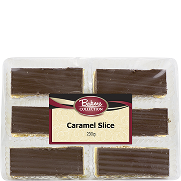 Bakers Collection® Caramel Slice