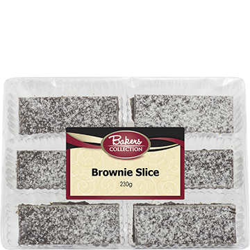 Bakers Collection® Chocolate Brownie Slice