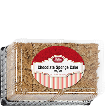 Bakers Collection® Chocolate Sponge Cake 200g