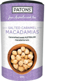 Patons© Caramelised Macadamias Salted Caramel Canister