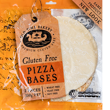 Old Time Bakery™ Gluten Free Pizza Bases 2pk