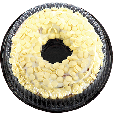 Bakers Collection® White Choc Mud Ring Cake
